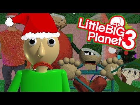BAD SANTA BALDI   LittleBIGPlanet 3 Gameplay (Playstation 4) LBP 3