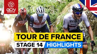 Tour de France 2021 Stage 14 Highlights   Breakaways Aplenty As Potential Podium Spots Up For Grabs