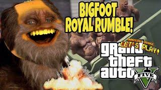 Video Annoying Orange Plays -  GTA V: Bigfoot Royal Rumble download MP3, 3GP, MP4, WEBM, AVI, FLV September 2018