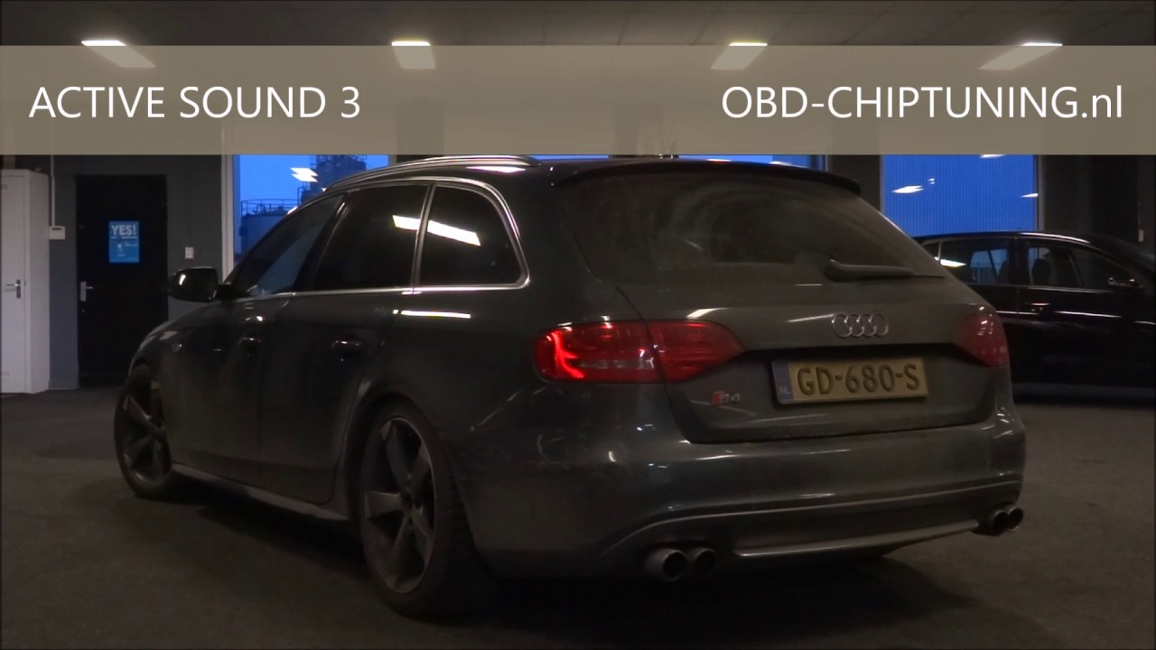 active sound audi a4 3 0tdi b8 avant obd chiptuning almelo. Black Bedroom Furniture Sets. Home Design Ideas