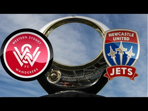 A League 16/17 January 22nd 2017 - WS Wanderers vs Newcastle Jets FULL MATCH Simulation