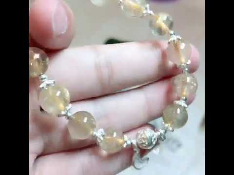 Moon-Star with Sunshine | Rutile Quartz