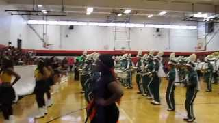 Surrattsville HS Playing Band Cadens