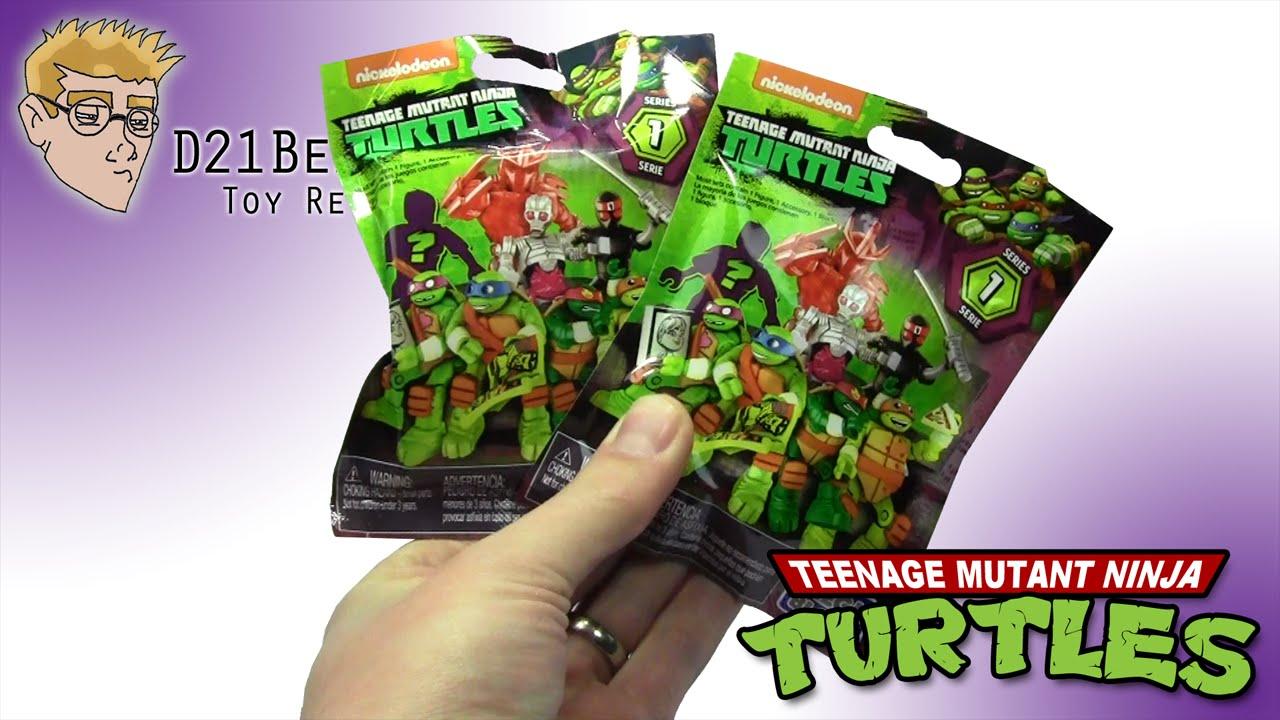 Mega Bloks Teenage Mutant Ninja Turtles Blind Bags 2016