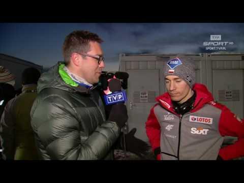 Kamil Stoch: jestem bardziej spokojny niż po Oslo