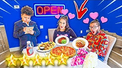 MY LITTLE BROTHER TURNED MY HOUSE INTO A 5 STAR RESTAURANT FOR ME AND MY GIRLFRIEND! **romantic*