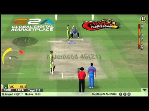 [Android] | World Cricket Championship 2 | Quick Mode | Pak V Ind I 1st T20