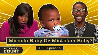 Miracle Baby Or Mistaken Baby? Man Denies Having Baby With Wife (Full Episode)   Paternity Court