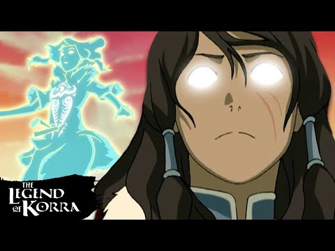 Every Time Korra Enters the Avatar State! | Legend of Korra