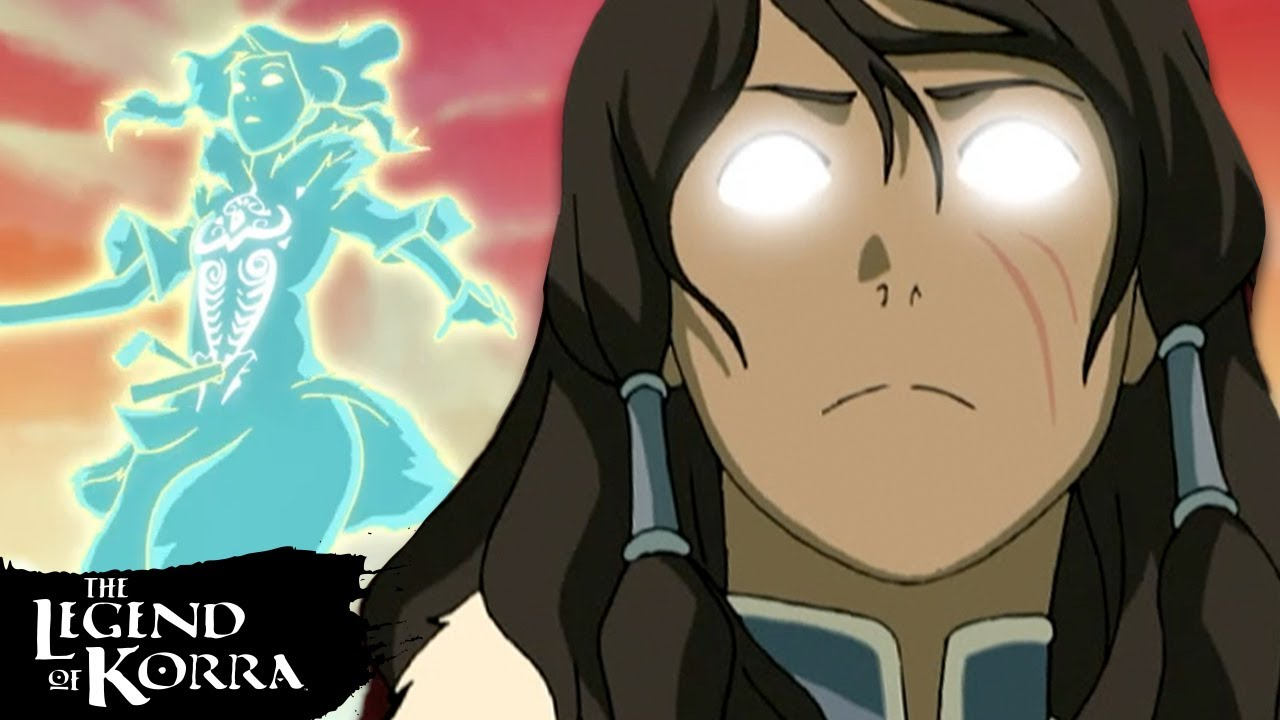 Download Every Time Korra Enters the Avatar State! | Legend of Korra