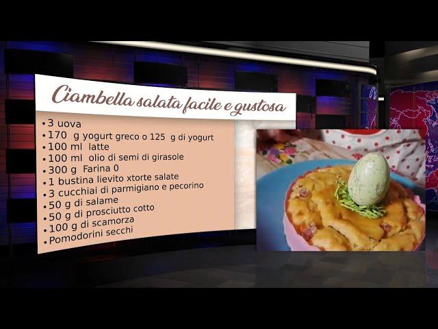 A CASA E IN FORMA - Ciambella salata