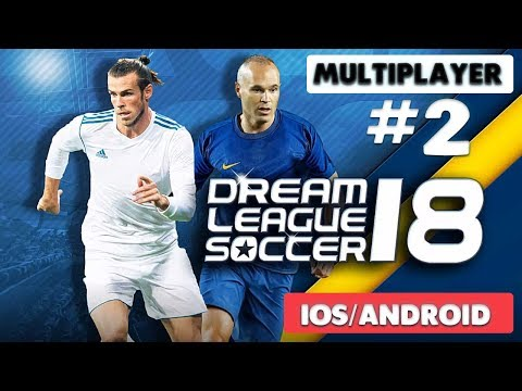 DREAM LEAGUE SOCCER 2018 - ONLINE MULTIPLAYER GAMEPLAY - iOS