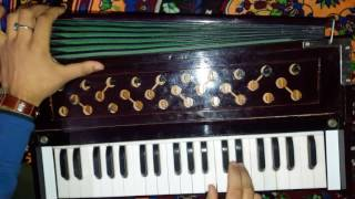 How To Play Ishqan De Lekhe On Harmonium // Tuitorial // Gaurav Anmol // 2017