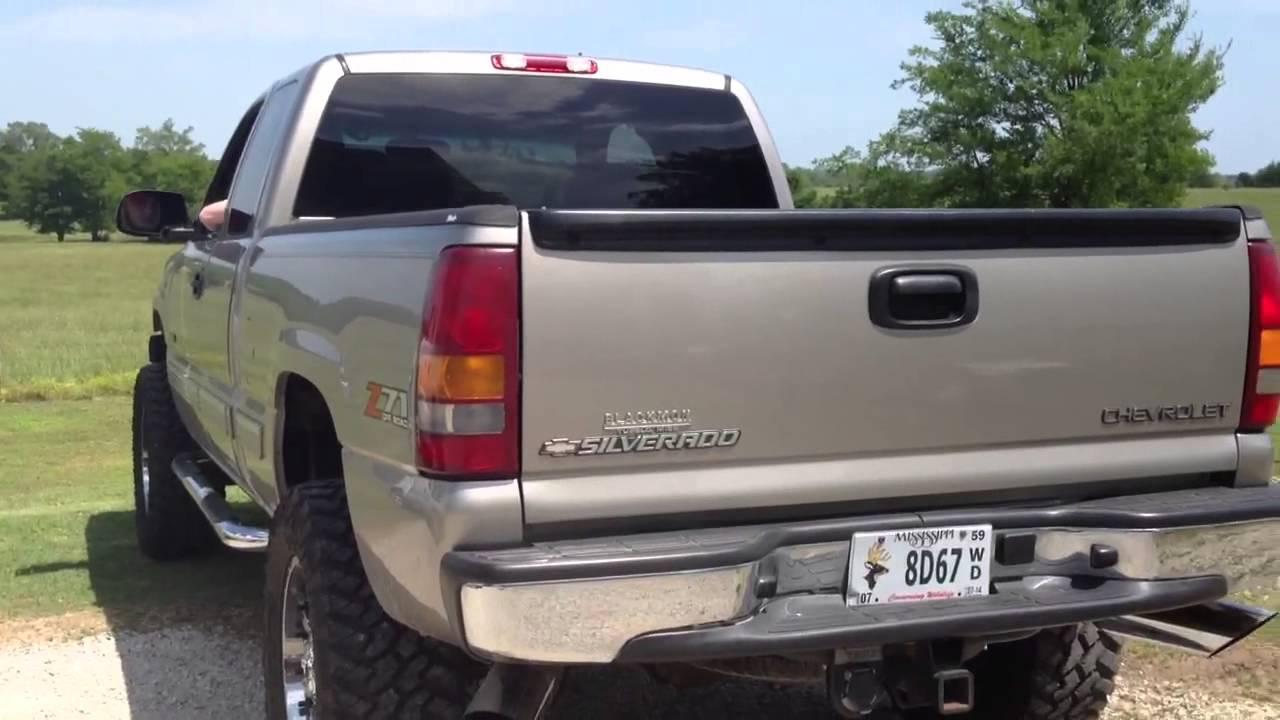 Silverado 99 chevy silverado exhaust : 06 GMC and 02 Silverado Straight Y Pipes - YouTube