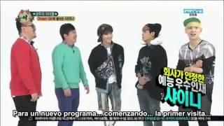 04/04/13 Weekly Idol Shinee Sub Español  [Segunda Visita] Parte 1 - [2/3]