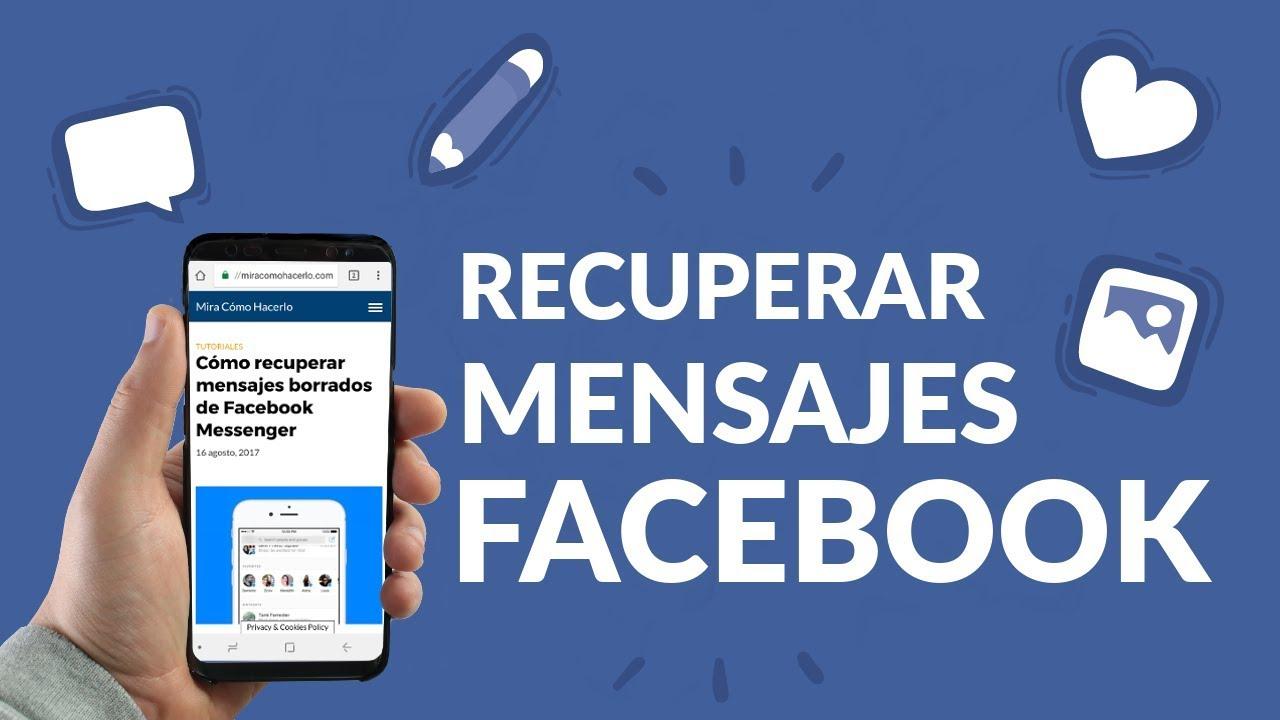 RECUPERAR CONVERSACIONES ARCHIVADAS MESSENGER IPHONE PERFILES BORRADOS