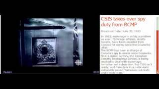 CSIS takes over spy duty from RCMP -Broadcast Date (june 1983)