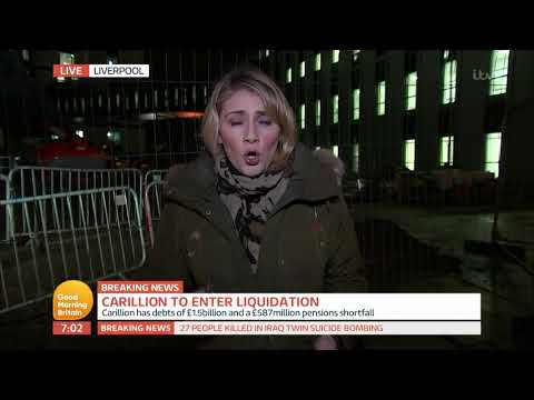 Carillion To Enter Liquidation | Good Morning Britain