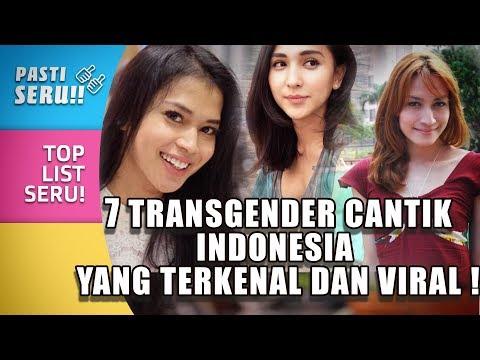TOP 7 Transgender Cantik asal Indonesia yang Terkenal dan Viral!