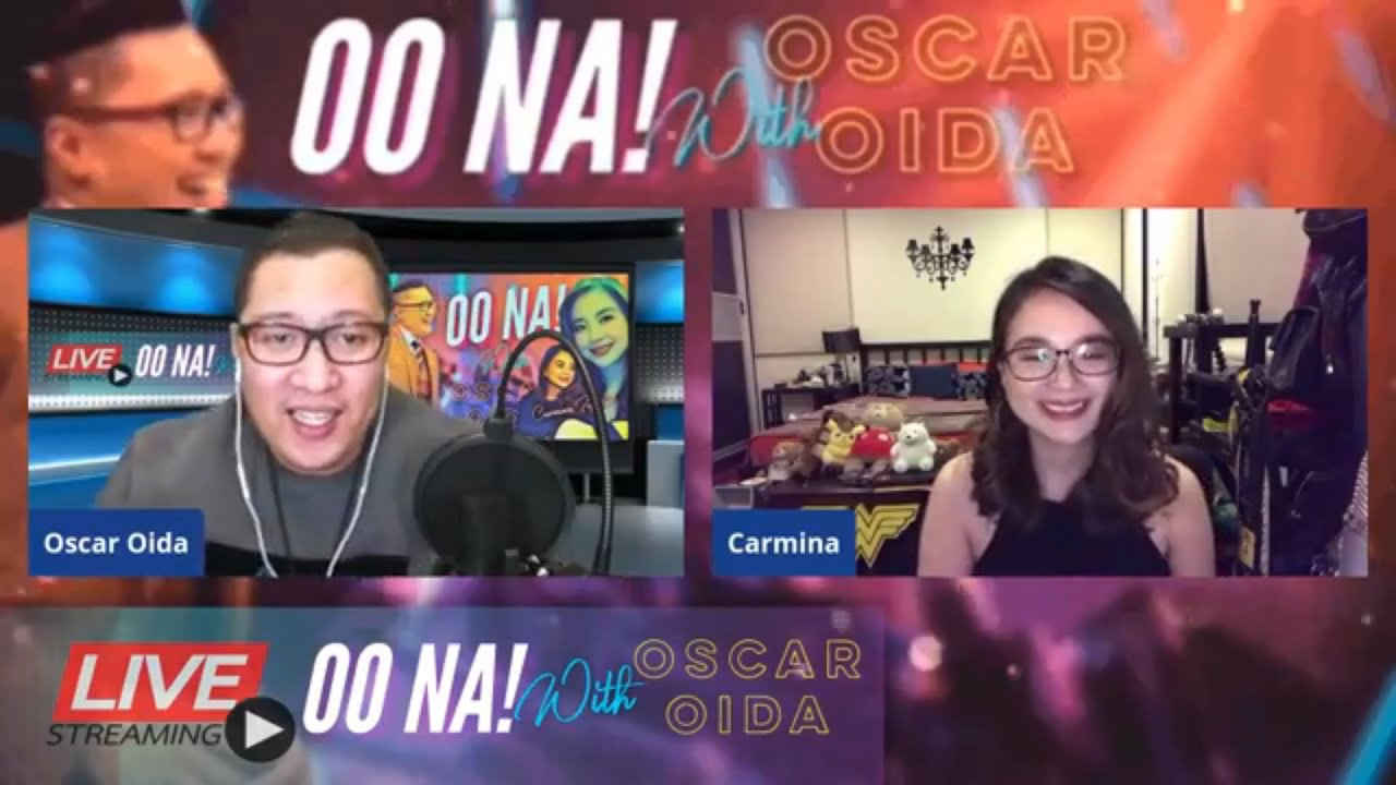 80s Night Carmina's Guesting on OO NA! with Oscar Oida
