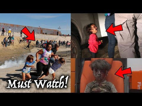 Propaganda Pictures Exposed! Media Misrepresents Photos. (Syria Kid, Crying Girl & Border Tear Gas)