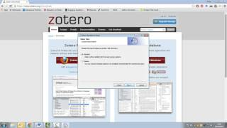 Gambar cover Zotero Tutorial 1 -  Downloading and Installing