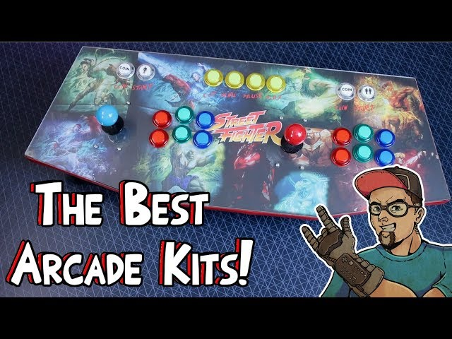 Arcade Kits For Emulation! My Top Favorites! Game Room Solutions!