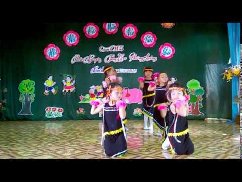 Múa cô giáo em là hoa EBan - Trường mầm non Phiêng Luông