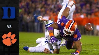 Duke vs Clemson Football Highlights (2018)