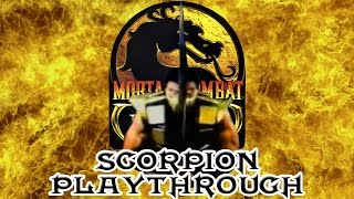 Mortal Kombat Gold Scorpion Playthrough (Difficulty : Ultimate) HD 60fps