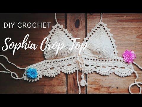 Canotta Alluncinetto Come Fare Passo Passo 4 Crop Top Crochet