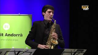 MAXIME BAZERQUE – SECOND ROUND – III ANDORRA INTERNATIONAL SAXOPHONE COMPETITION 2016