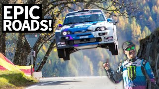 Antilag in the Alps: Epic Rally Views in Switzerland in My Ford Escort Cossie V2