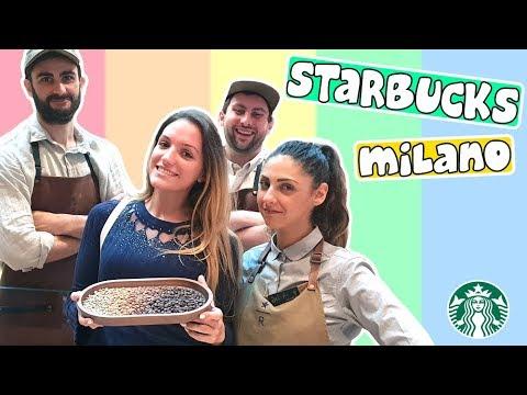 Tour Starbucks Milano + come si fa il caffè // La Vale