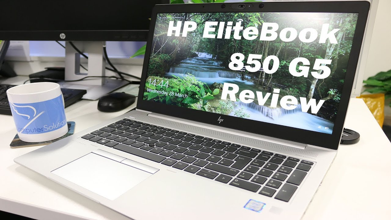 HP EliteBook 850 G5 Review - Ultimate Secure and Collaboration Business  Laptop