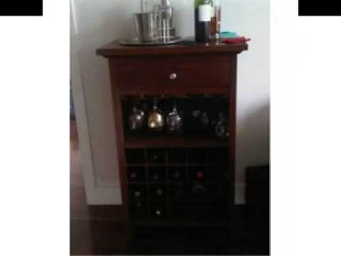 Winsome Wood Wine Cabinet With Drawer And Glass Holder, Walnut, Limited Seat Awesome Ideas