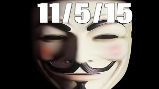 Anonymous Hackers to Out KKK Members 11/5/2015 @YourAnonNews