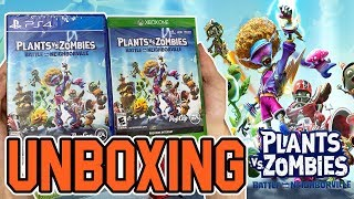 Plants Vs Zombies Battle for Neighborville (PS4/Xbox One) Unboxing!!