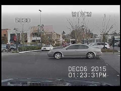 Seattle Police, pretty epic chase of carjacker, crash