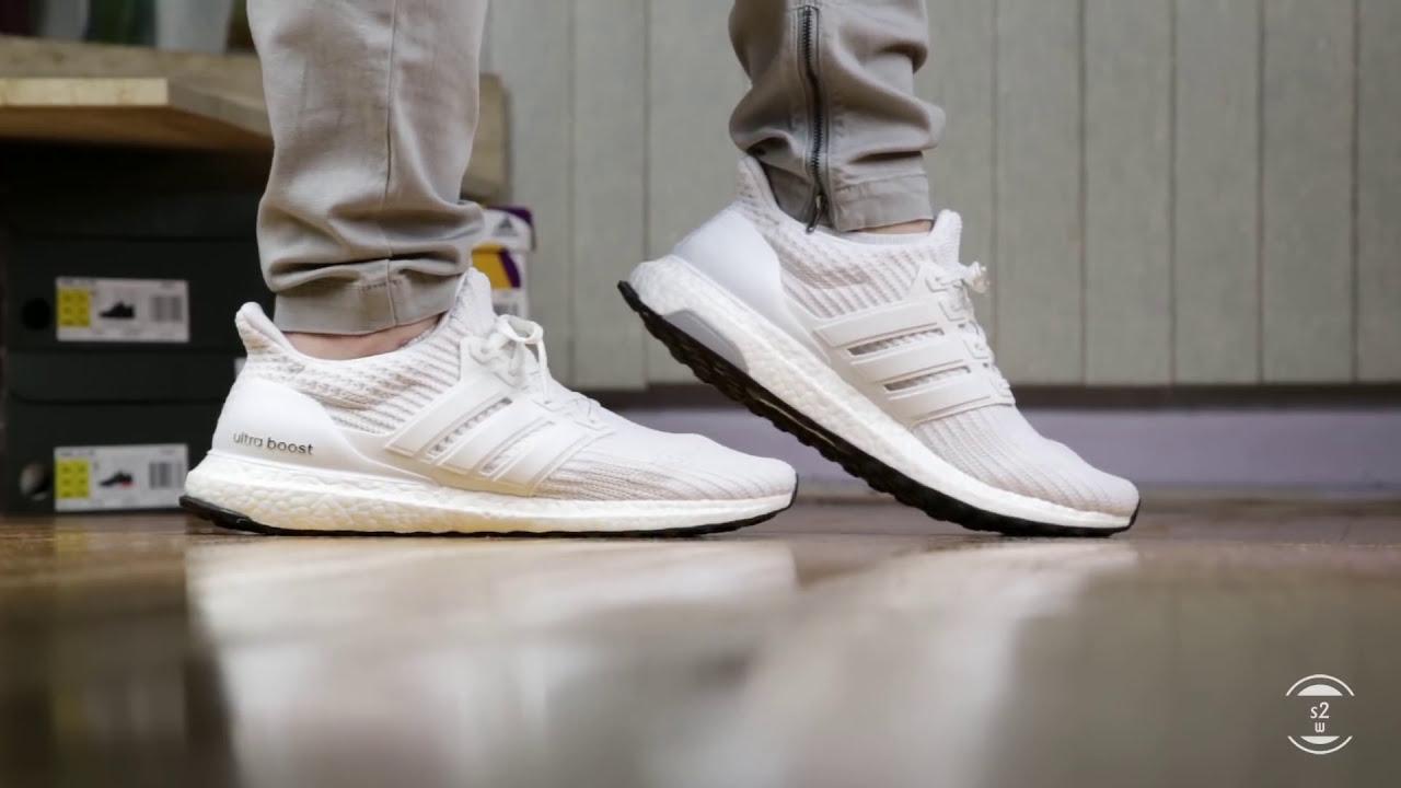 1.0 pattern, 2.0 thickness, 3.0 stretch = Adidas Ultra Boost