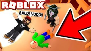 PLAYING AS BALDI in ROBLOX MURDER MYSTERY 2