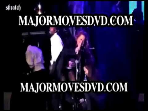 MARIAH CAREY FALLS ON STAGE WHILE PREGNANT AND PERFORMING