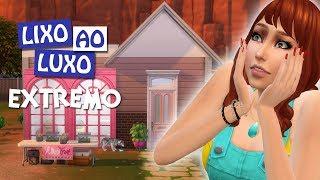 CONSTRUÍMOS UMA CASA #10 - Desafio Do Lixo Ao Luxo Extremo - The Sims 4