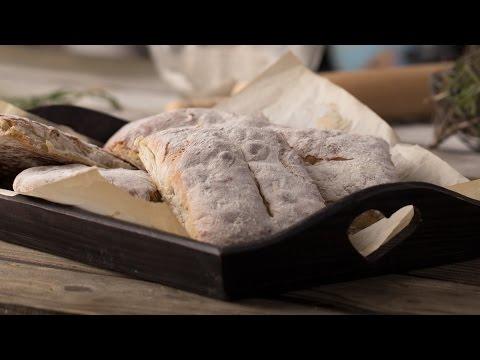 Итальянская Чиабатта || Bread & Butter || Хлеб и Выпечка на FOOD TV