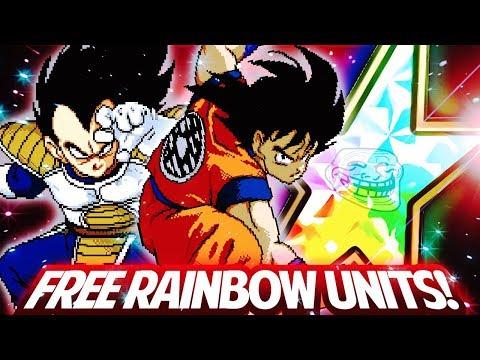 HOW TO GET FREE RAINBOW UNITS ON SECRET SERVER! DBZ Dokkan Battle