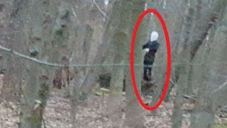 [Entry#14] SLENDERMAN SIGHTING CAUGHT ON TAPE 2016 !!!