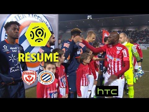 AS Nancy Lorraine - Montpellier Hérault SC (0-3)  - Résumé - (ASNL - MHSC) / 2016-17