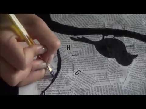 Diy decora con cuadros faciles de hacer youtube - Manualidades faciles cuadros ...
