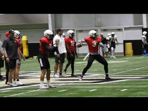 In The Zone - WATCH: Media gets a look @ UCF's QB competition at practice