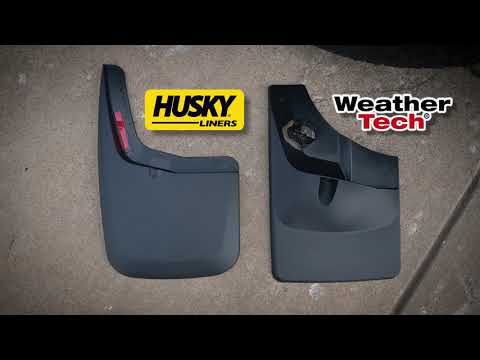 MUD FLAPS - Husky vs Weathertech!